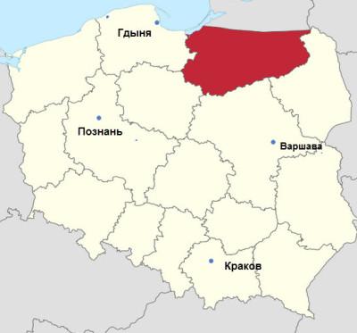 Варминско-Мазурское
