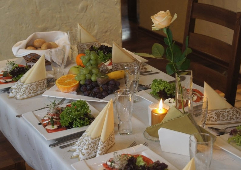 Польская кухня в ресторане Окраса во Вроцлаве