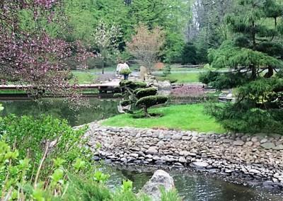 парк в японском стиле,Вроцлав