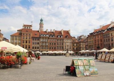 Рыночная площадь (Rynek). Варшава