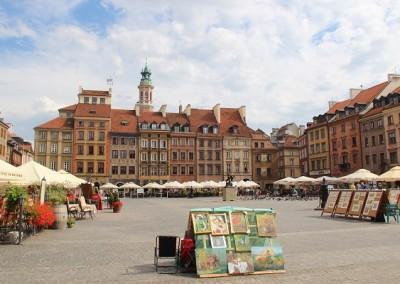Рыночная площадь в Варшава