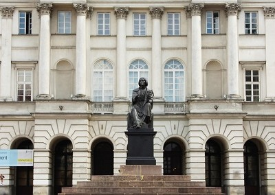 Памятник Копернику в Старом городе