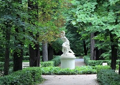 Античные скульптуры Лазенского Парка