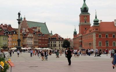 Фотографии видов Варшавы