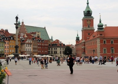 Замковая площадь.Старый город