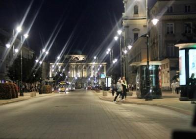 Из окна такси. Варшава