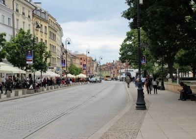 Королевский тракт. Варшава