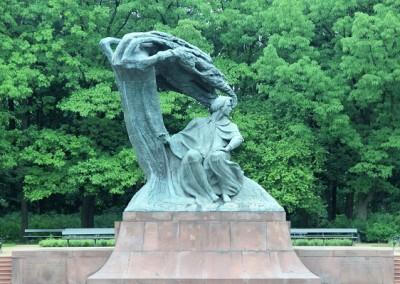 Памятник Фридерику Шопену