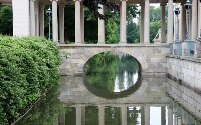 Лазенский Королевский Парк в Варшаве