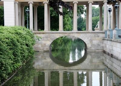 Лазенский королевский  дворец на воде