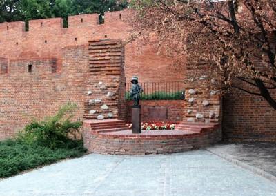 Памятник Маленькому повстанцу, Варшава