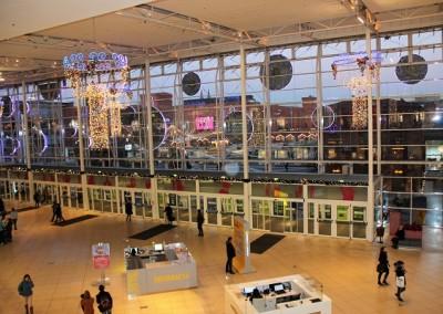 Вид из покупочного центра