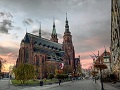 St. Peter and st. Paul cathedral in Legnica Poland sm