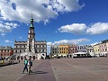 zamosc city  view