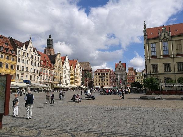Площадь рынка во Вроцлаве