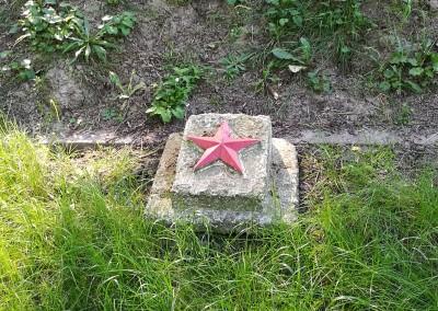 Захоронение Советский Войнов