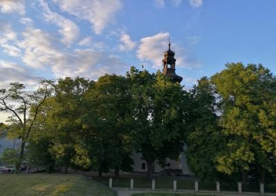 Замосць - очень зеленый город