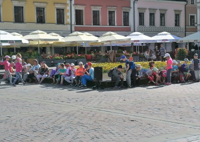 Кафе и рестораны на площади