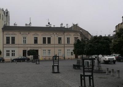 Аптека под орлом и площадь героям гетто