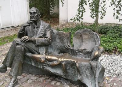 Памятник Яну Карскому