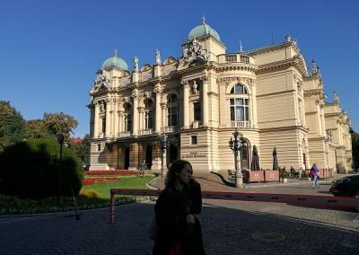 Знаменитый театр в Кракове