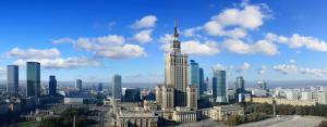 панорама Варшавы