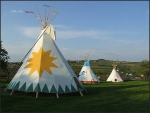 Парк развлечений в Польше Краков - indian village1