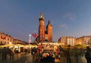 Новый Год и Рождество в Кракове